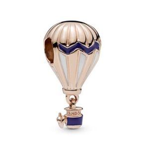 New Pandora Rose Hot Air Balloon Charm